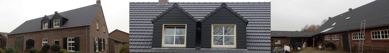 NRB Bouw BV - Projecten - Renovatie dak boerderij Diessen uitgelicht